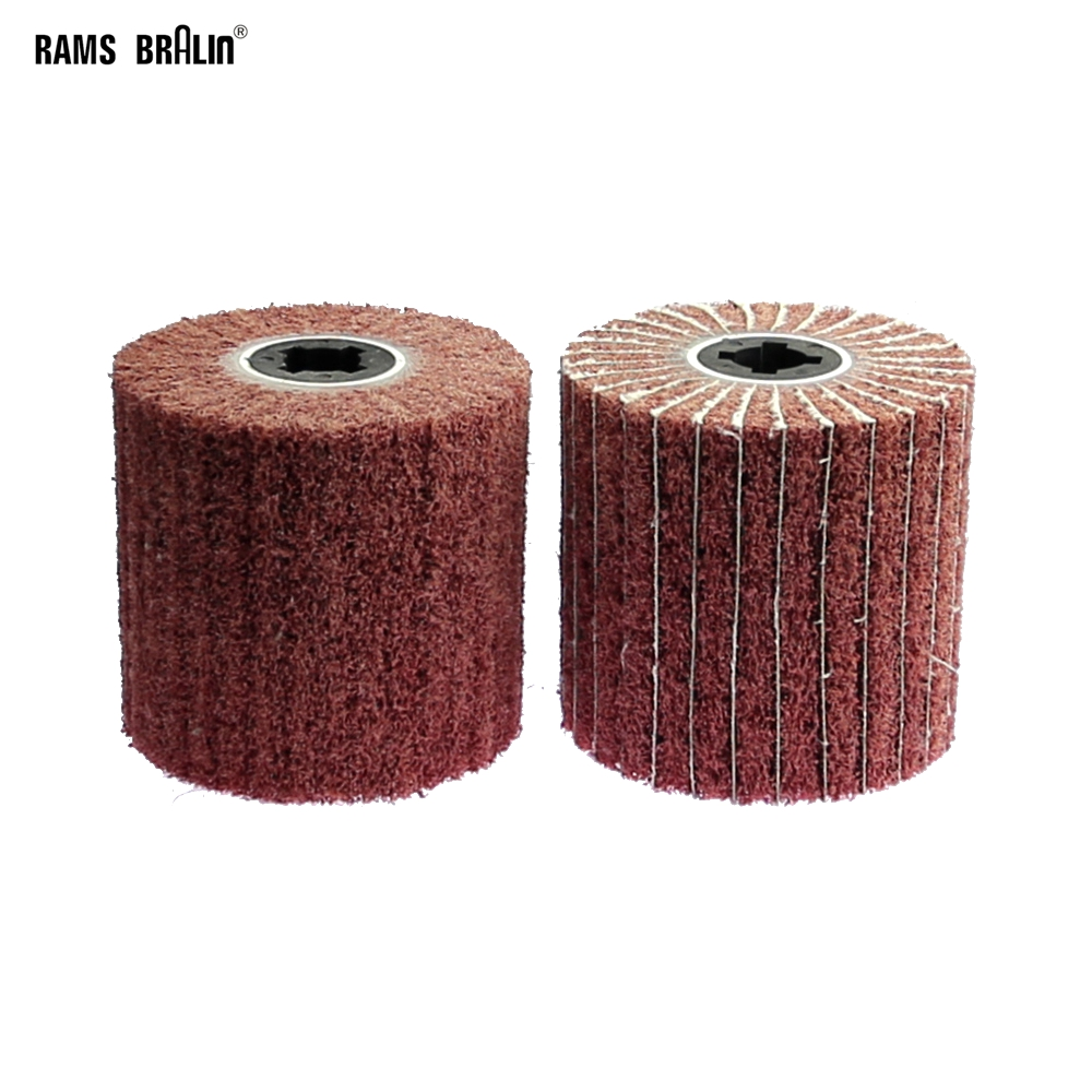 110*100*19mm Polishing Wheel Brush For Interskola Wheel Sander