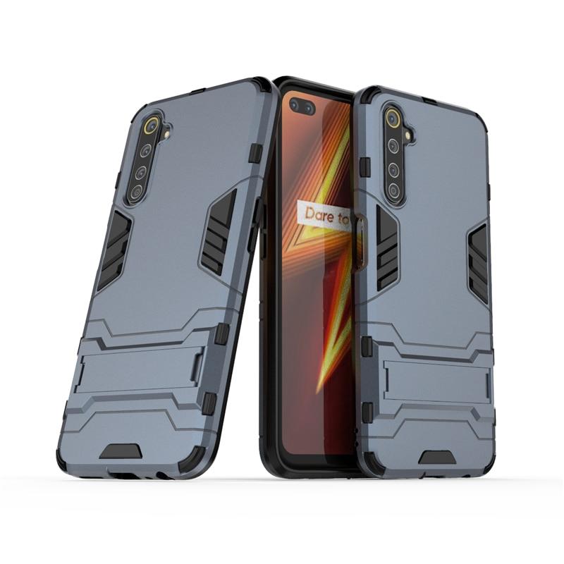 Чехол для телефона для Oppo Realme 6 Pro, противоударный защитный чехол для ПК, бампер, задняя крышка для Realme 6 Pro, чехол для Realme 6 Pro, Fundas|Специальные чехлы| | АлиЭкспресс