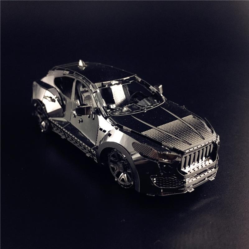 MMZ MODEL NANYUAN 3D Metal Model Kit MSL 3.0T Off-road Vehicle Assembly Model DIY 3D Laser Cut Model Puzzle Toys For Adult