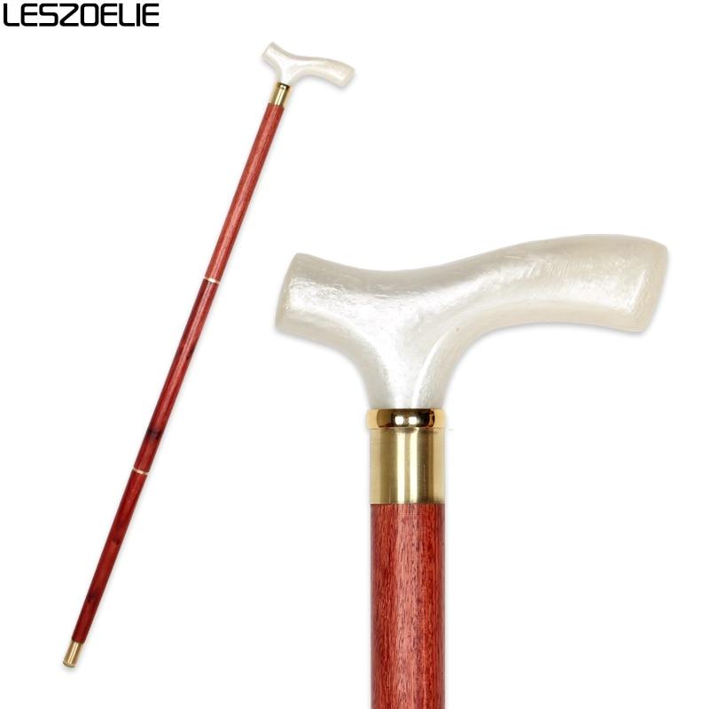 Luxury Resin Handle Walking Canes For Men Decorative Stick Women Fashion Wooden Elegant Walking Stick Vintage Walking Canes