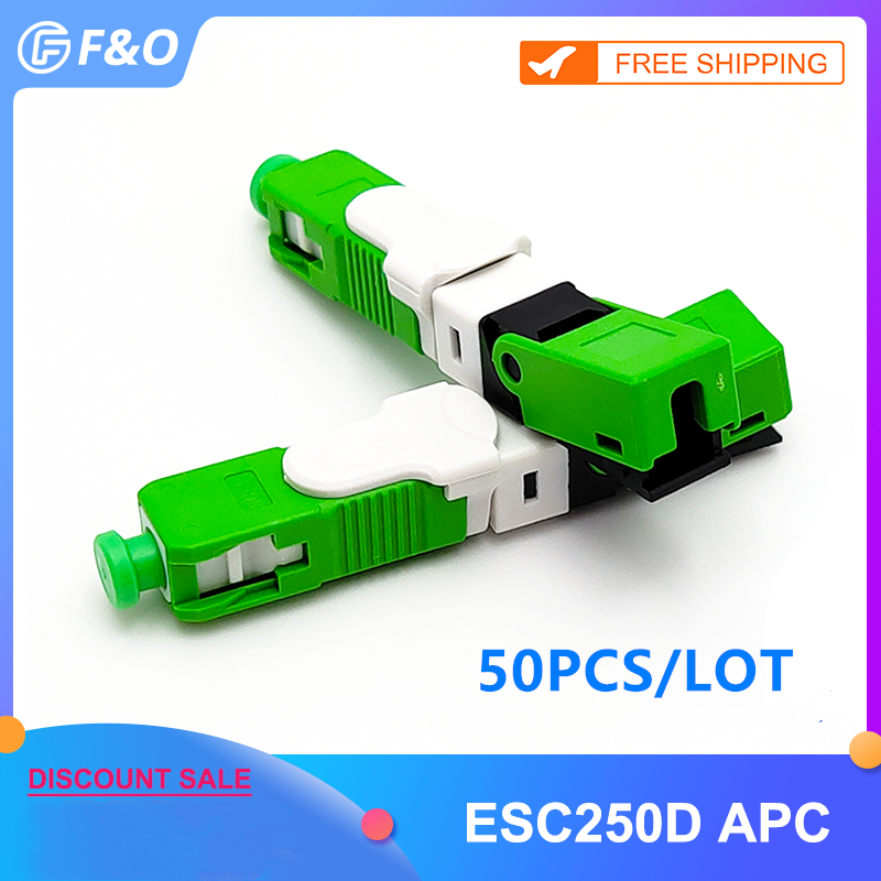 Field-Assembly-Connector Sc Apc Drop-Cable FTTH Fiber-Optic ESC250D Wholesales Single-Mode