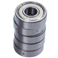 XSXS  15pcs 608ZZ Double Shielded bearings Skateboard Bearings Scooter Bearings  Double Shielded  Silver|Bearings| |  -
