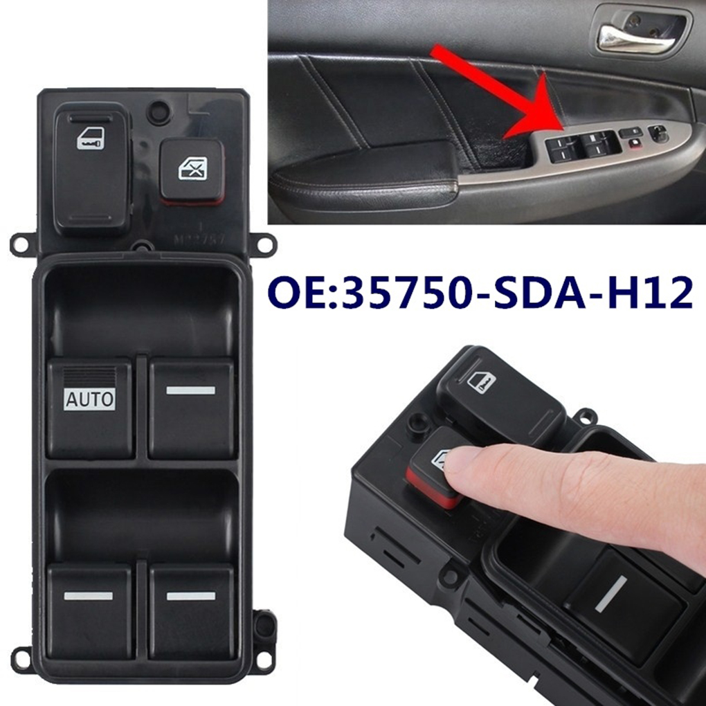 Replacement For Honda Accord 2003-2007 Auto Electric Power Window Switch Master Controller 35750-SDA-H12