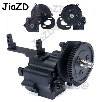 Alloy CNC chassis / gear box transfer case  Center Gearbox transmission case 2 Speed for 1/10 Axial Wraith 90018 RC Crawlers T09