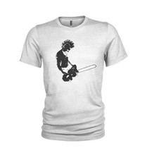 Punk and Chainsaw - Anarchy in the UK horror style T-Shirt mens all sizes