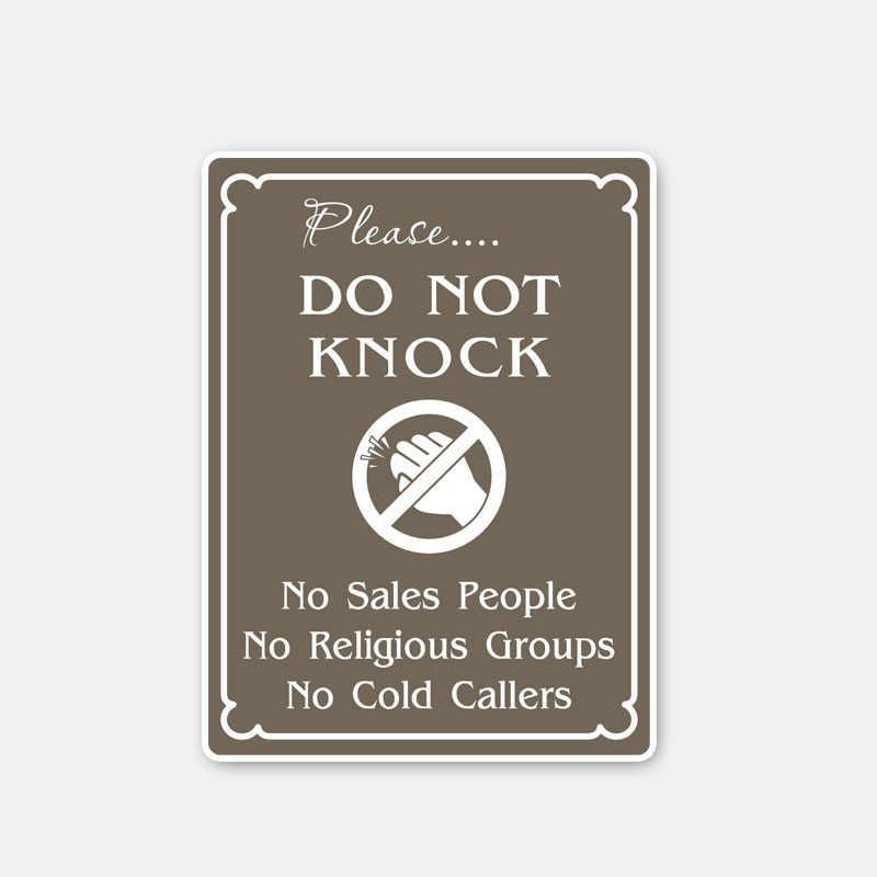 Aliauto 警告車のステッカーノックしないでくださいなし販売アクセサリービニールデカールスマートフォーツーのためのオペルアストラ J 起亜リオ、 11 センチメートル * 8 センチメートル