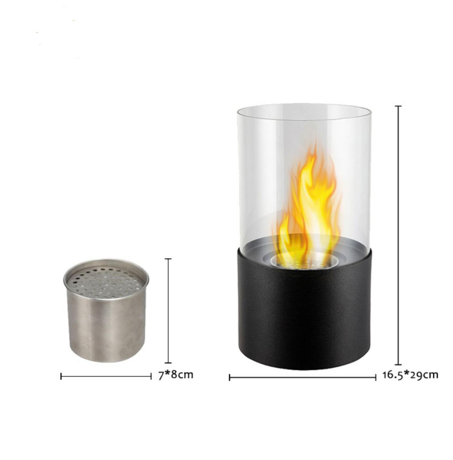 American Desktop Ethanol Fireplace Decoration Smokeless  Small Real Flaming Alcohol Tabletop Fireplace Ornament