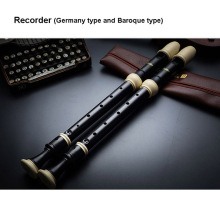 New Arriving  Alto Recorder F Keys 8 holes German type clarinet Baroque clarionet with PU bag Oriolus mouth organ free shipping