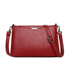 Genuine Leather Womens Shoulder Bags With Long Strap High Quality Envelope Tassel Crossbody Over Female