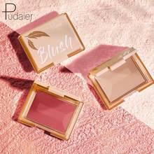 Fard à joues mat, brume douce, fin, scintillant, durable, Rouge délicat, lisse, améliore le teint, maquillage imperméable, cosmétique