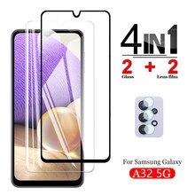 Schutz Glas für Samsung Galaxy A32 5G Display-schutzfolien Gehärtetem Glas für Galaxy A32 5G Glas Kamera Objektiv EINE 32 6.5