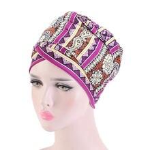 2020 Новый женский Африканский головной платок шляпа мусульманский