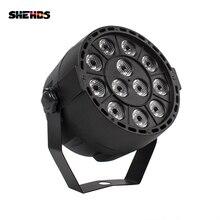цены LED Par 12x3W LED Stage Light Par Light With DMX512 for disco DJ projector machine Party Decoration