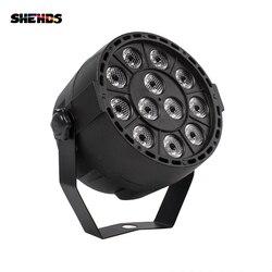 Led par 12x3 w rgbw led luz de palco luz par com dmx512 para disco dj projetor máquina festa decoração shehds iluminação palco