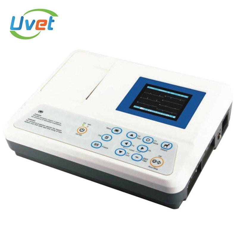 Увет оборудование для анализа патологий три каналы ecg ручной отличное автоматической интерпретацией медицинское оборудование анализатор