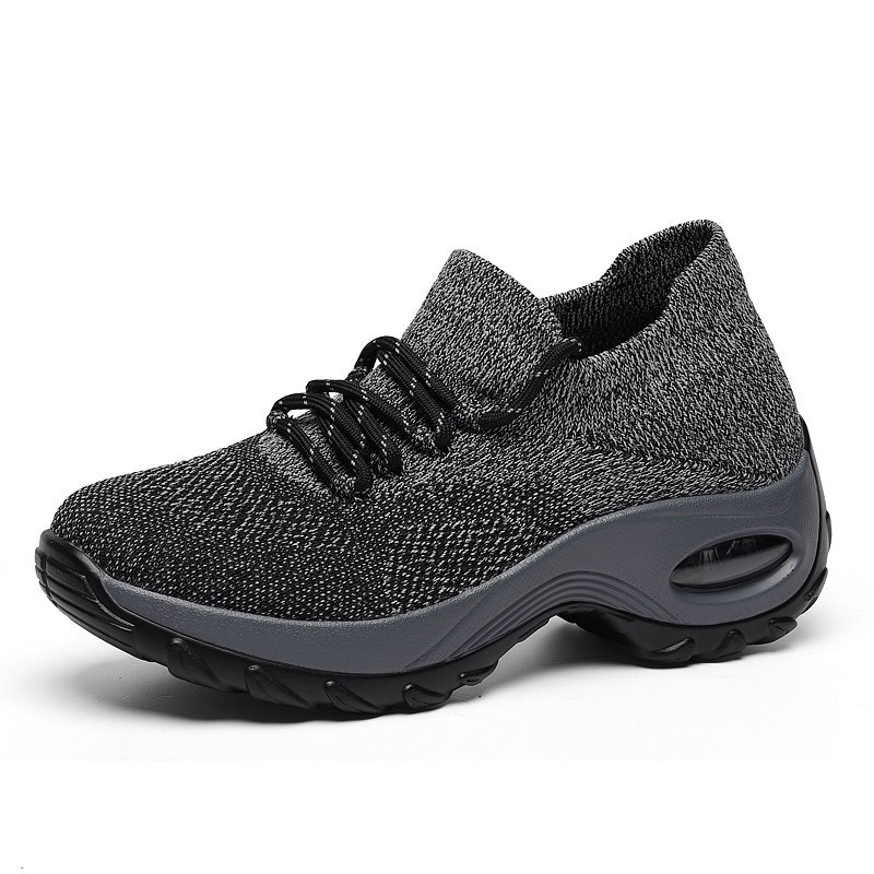 Grey Sock Sneakers