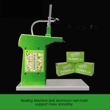 711 aluminum nail machine supermarket aluminum nail tying machine sealing machine plastic bag food bag tying machine fresh baler
