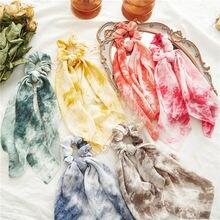 Женский хвостик шарф прелестные модные туфли женские аксессуары