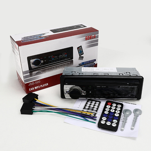 Car Radio miniJSD520 12V Bluetooth Car Stereo In-dash 1 Din FM Aux Input Support Mp3/MP4 USB MMC WMA AUX IN TF Car Radio Player