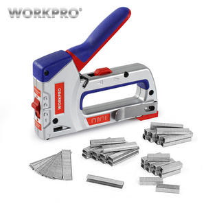 WORKPRO Staple-Gun Nailer Manual DIY Home-Decoration Heavy-Duty 4000 for Furniture