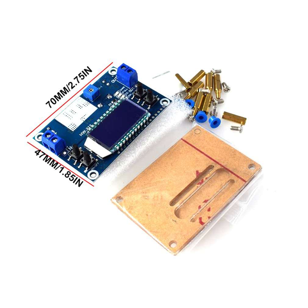 5A CNC Step-down Power Supply Module Dcdc Adjustable Constant Voltage Constant Current Lcd Button Setting Voltage