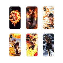 One Piece Ace Accessories Phone Cases Covers For Samsung Galaxy J1 J2 J3 J4 J5 J6 J7 J8 Plus 2018 Prime 2015 2016 2017(China)
