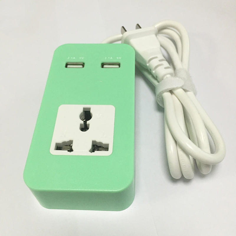 2 шт. умная USB лента питания 1 розетка 2 порта USB зарядное устройство 1,2 м удлинитель шнур питания настенный зарядное устройство адаптер для те