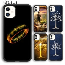 Krajews LORD OF THE RINGS HOBBIT GANDALF Soft Phone Case For iPhone 5 SE 6s 7 8 plus X XR XS 11 pro max Samsung Galaxy S8 S9 S10(China)