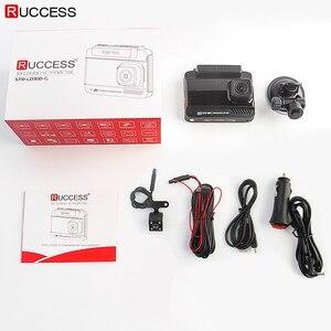Image 5 - Ruccess DVR Xe Ô Tô 3 Trong 1 Đầu Ghi Cảm Radar GPS Full HD 1080P Camera Kép Tự Động Ghi Hình 1296P Nga Tầm Nhìn Ban Đêm WDR ADAS