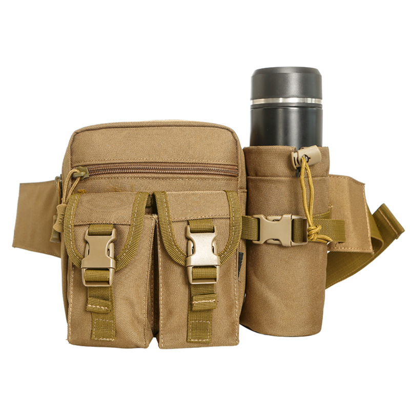 Tactical Outdoor Bag Multi-functional Army Fans Bag Men And Women Outdoor Sports Waterproof Bag Camouflage Travel Shui Hu Bao