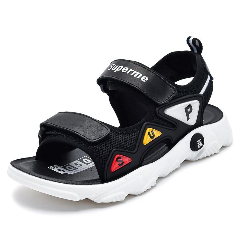 Genuine Leather Children Sandals