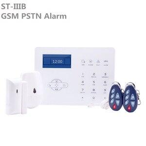 Image 1 - Förderung Preis ST IIIB GSM Wireless Home Sicherheit Alarme touchscreen PSTN Einbrecher Alarm System Mit ST Panel App control