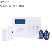 Promosyon fiyat ST IIIB GSM kablosuz ev güvenlik Alarm dokunmatik ekran PSTN hırsız Alarm sistemi ile ST paneli App kontrol