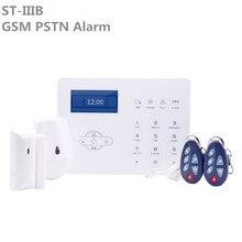 프로모션 가격 ST IIIB GSM 무선 홈 보안 경보 터치 스크린 ST 패널 App 제어와 PSTN 침입자 경보 시스템