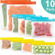 10 Pack Reusable Silicon…