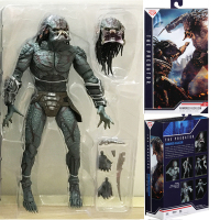 26CM Original NECA The Predator Armored Assassin  Action Figure Toy Doll Christmas Gift