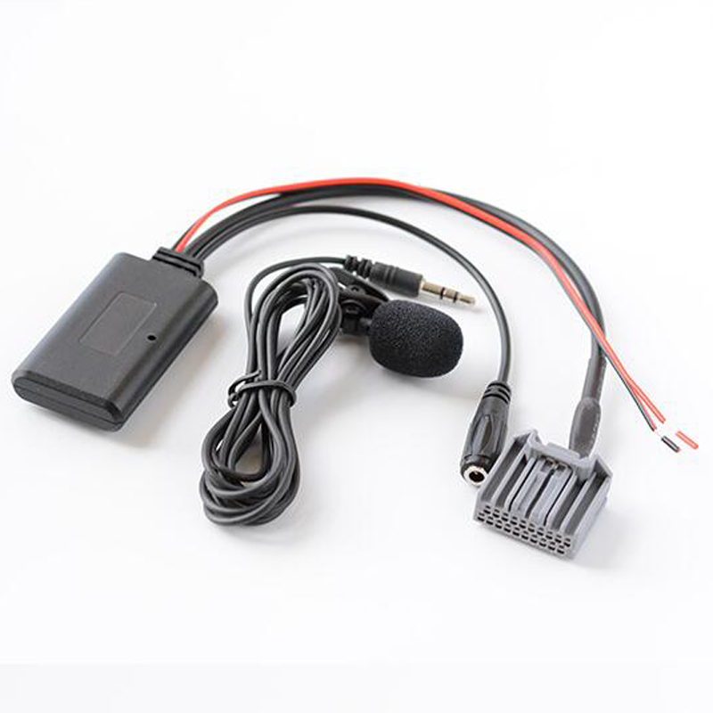 Biurlink 150CM Car Stereo CD Changer Microphone Kit Phone Call Hands Free <font><b>Adapter</b></font> Bluetooth Aux <font><b>Cable</b></font> For <font><b>Honda</b></font> Civic CRV image