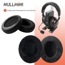 NullMini החלפת קטיפה Earpads עבור צב חוף אוזן כוח PX5 PX51 אוזניות לעבות זיכרון קצף Earmuff שרוול אוזניות