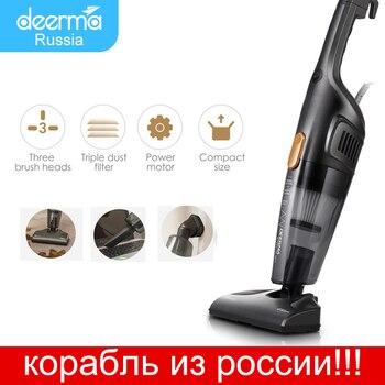 цена на Xiaomi Deerma Original Portable Handheld Vacuum Cleaner Household Silent Strong Suction Home Aspirator Dust Collector