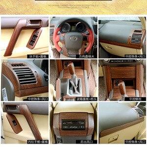 Image 2 - Auto Styling Sticker Accessoires Interieur Moulding Trim Voor Toyota Land Cruiser Prado 150 LC150 FJ150 2014 2015 2016 2017 30 stuks