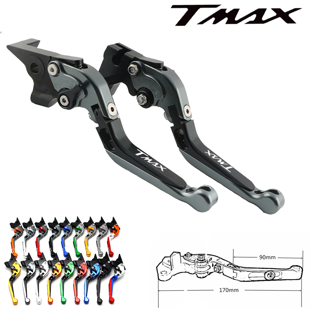 For <font><b>Yamaha</b></font> <font><b>TMAX</b></font> 500 TMAX500 T-MAX 500 <font><b>2001</b></font> 2002 2003 2004 2005 2006 2007 CNC Motorcycle Brake Clutch Levers image