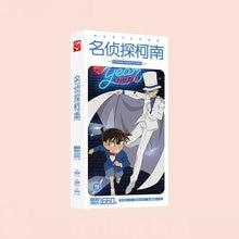 1660pcs/Box Detective Conan Postcards Anime Post Card Message Gift