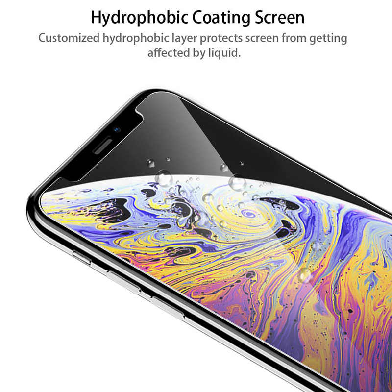 2 sztuk 9H HD szkło dla iphone X XS 11 Pro Max XR ochraniacz ekranu szkło ochronne na iphone X 11 Pro szkło hartowane szkło hartowane Film