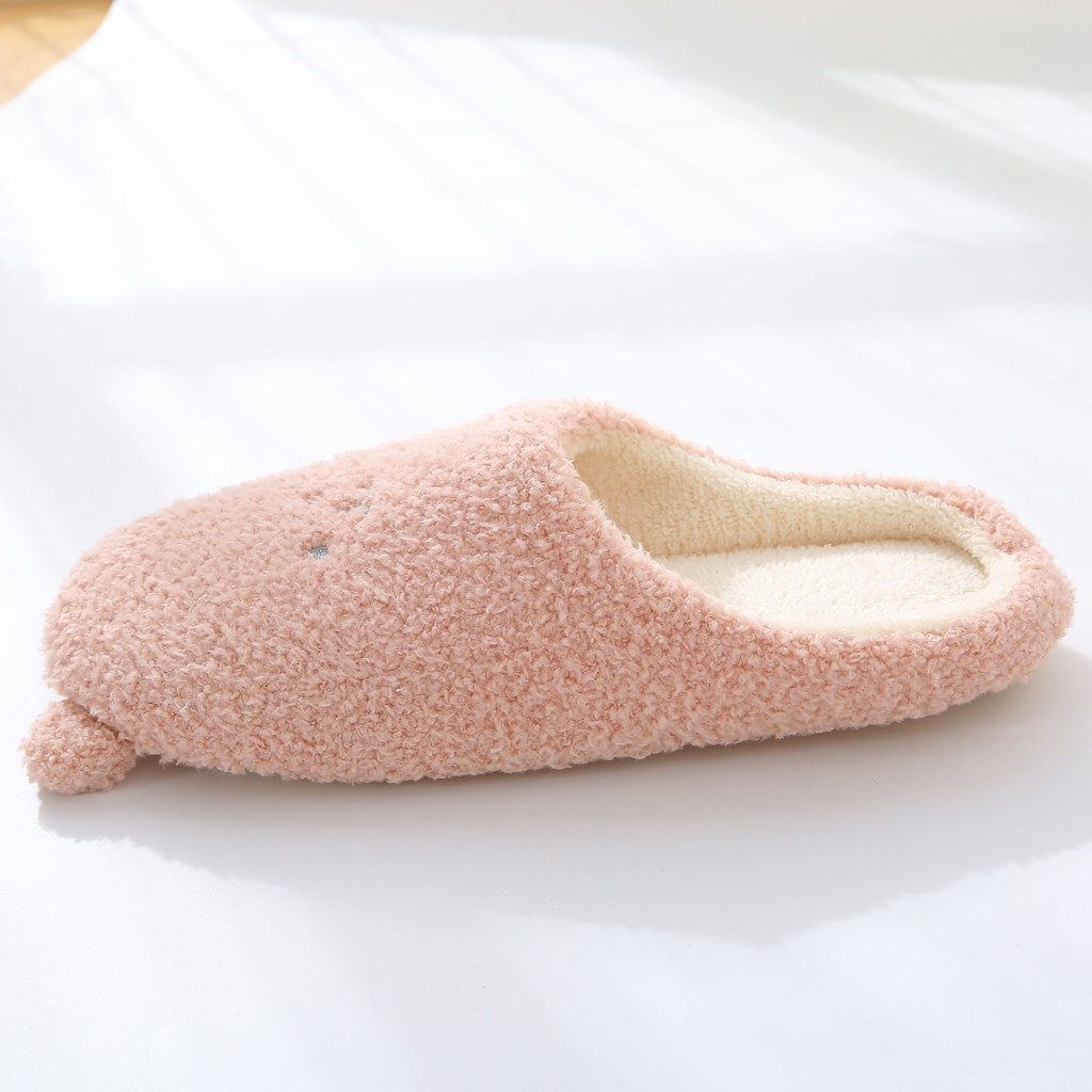 Jaycosin Shoes woman House home slippers women Slip-On Anti-Skid Bear Indoor Casual Shoes Snow winter shoe slides Dropshipping 2