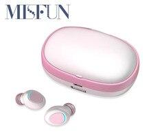 Ture słuchawki bezprzewodowe TWS 5.0 Bluetooth słuchawka hi fi zestaw słuchawkowy sportowe IPX7 wodoodporne douszne słuchawki douszne z mikrofonem do spania