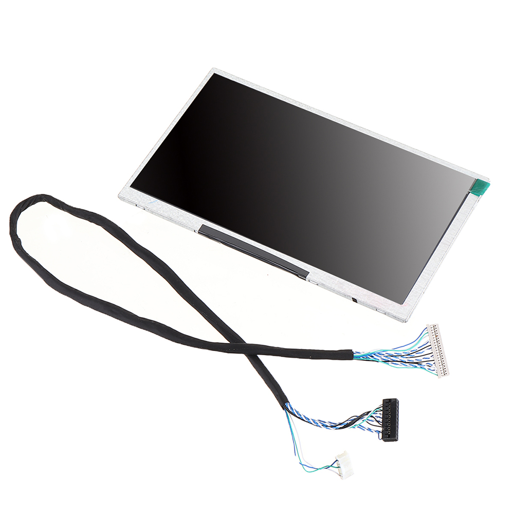 NEW <font><b>7</b></font> <font><b>Inch</b></font> 1024*600 720P 65K HD LVDS IPS Full View Angle Industrial Display <font><b>LCD</b></font> Screen Module image