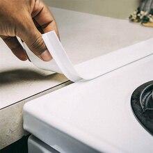 2 шт. кухня силиконовая вставка для плиты крышка зазора термостойкий Коврик масляная Пыль уплотнение воды легко чистить разливы между счетчиком