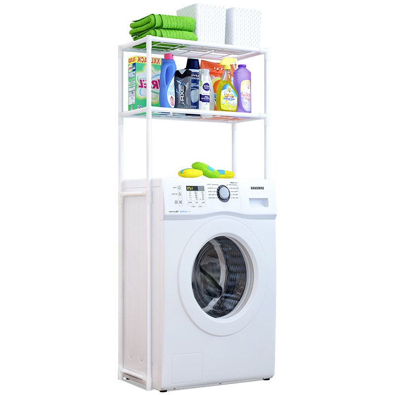 Bathroom Washing Machine Shelf Bathroom Toilet Rack Toilet Finishing Rack Floor Storage Shelf