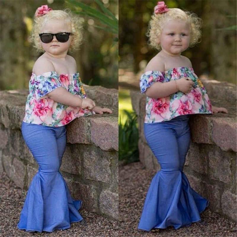 Pantalones Acampanados De Cintura Alta Para Ninas Y Madres Que Combinan Con La Familia Pantalones Aliexpress