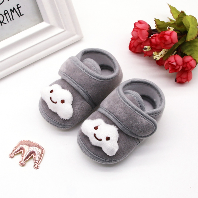 2019 Cute Newborn Toddler Baby Shoes Boys Girls Crib Shoes Cartoon Soft Sole Non-slip Infant Baby Shoes New